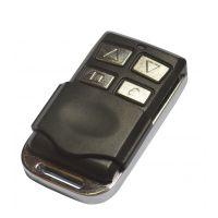 杜亚滚码管状电机控制器 单片机发射 4键金属无线遥控器