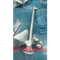 优质低价螺旋输送机 倾斜式上料管式绞龙输送机