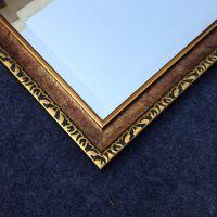 华仑观色厂家 定做6公分环保发泡镜框J06211方形银镜玻璃浴室镜 全身镜
