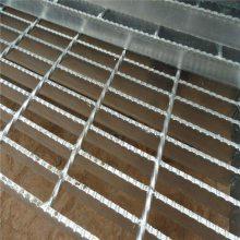 楼梯踏步钢格板 电厂踏步板 格栅板理论重量
