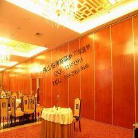热销 湛江酒楼包厢隔断 肇庆餐厅折叠屏风 江门玻璃隔断 看得自然