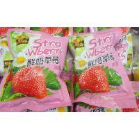 尊海 鲜奶草莓草莓干  一箱10斤