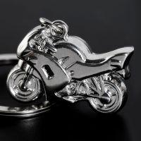 批发时尚摩托车造型钥匙扣 创意新奇手机包包装饰挂件生日礼品