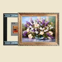 客厅壁画电表箱推拉装饰画电闸配电箱遮挡画欧式有框画挂画D955