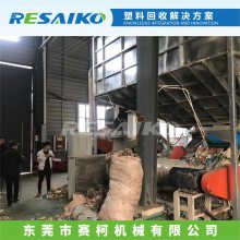 DPE薄膜回收破碎清洗加工生产线,废旧农膜地膜回收破碎清洗造粒机器