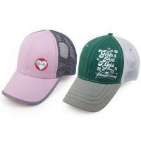 儿童帽定做旅游帽太阳帽空顶帽子定做网帽