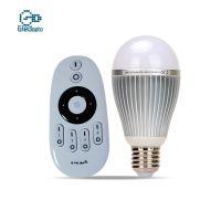 WIFI色温节能灯泡9W冷白暖白无线遥控厂家直销智能LED球泡灯