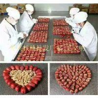 精选特级和田大枣红枣夹核桃生产厂家