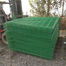 旺来框架护栏网价格 隔离栅护栏 钢丝网围栏