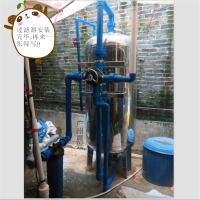 (2016年地下水过滤机)7吨除铁锰过滤器 彻底解决地下水发黄浑浊铁腥味(过滤效果突出)