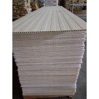 华仑观色PVC竹木纤维集成快装墙板及配套线条
