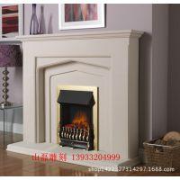 【汉白玉壁炉】 别墅欧式装饰大理石壁炉 曲阳精美工艺雕刻石壁炉