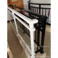 阳台扶手铝材批发销售 木纹喷涂扶手铝材批发 80*40 40*40 32*32