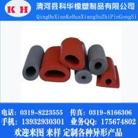 厂家供应 硅胶密封条 D型 三复合密封条 硅胶发泡密封条
