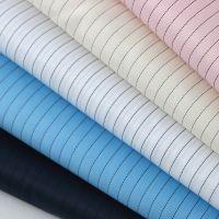厂家供应防静电绸 新款服装布料 工作服户外服里布品质优 现货