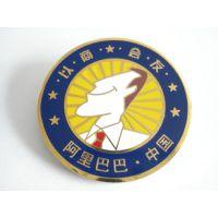 专业锌合金徽章制作青岛商务连锁会精品徽章制造厂