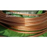 铜覆钢绞线的导电率,铜包钢绞线的技术规格