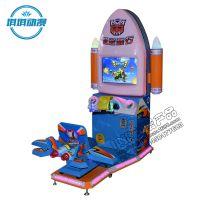 琪琪动漫产品2016新款儿童激光赛车机游戏机低空飞行大型室内投币游艺电玩设备机