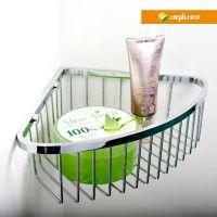 东莞亚秋 供应不锈钢置物架卫生间转角架浴室角架网篮