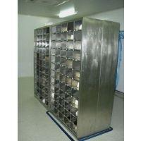 广州制药厂车间不锈钢鞋柜按尺寸定做