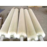 木工机械抛光除尘毛刷,家具抛光除尘毛刷,砂光机毛刷,钢带清扫铜丝毛刷辊
