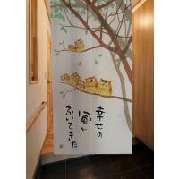 厂家直销挂帘正品出口日本日式布艺风水门帘批发零售