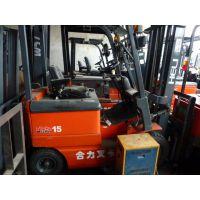 低价转让8.9成新二手合力杭州TCM叉车欢迎来电咨询
