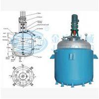 供应广州金宗2000L电加热反应釜SUS304闭式反应釜 不锈钢反应釜