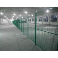 车间隔离网也称护栏网,围栏,仓库车间隔离网也叫网片隔断厂区隔离网