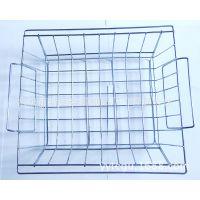 镀铬铁线圆形水果篮, 家用金属制品,铁线水果篮