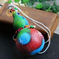 1486#特色彩绘葫芦 格子铺热卖饰品货源 小玩意儿 创意玩具