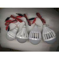 led球泡灯12V带鳄鱼线夹灯泡中山专业生产厂家批发led球泡灯