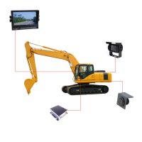 挖掘机倒车雷达专用挖掘机可视倒车雷达5m探测距离 厂家直销