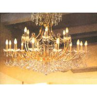 中元之光推荐欧式别墅吊灯水晶灯玻璃灯蜡烛灯客厅卧室装饰吊灯