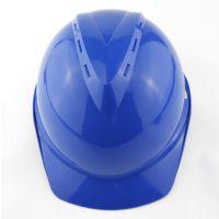 正品代尔塔102104 HDPE带透气孔插片调节安全帽 经典V型 增强版安全帽