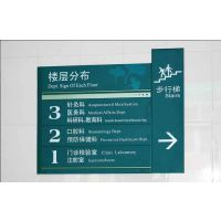 立牌户外广告牌制作 景观导视牌指示牌定制 广告标牌制作
