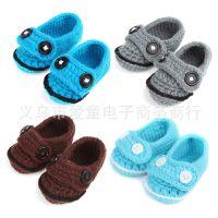 2013款婴儿鞋婴儿学步鞋儿童手工鞋卡通毛线纯色儿童韩版单鞋