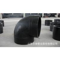 dn630mm90度PE弯头 大口径PE弯头 山东PE管件批发