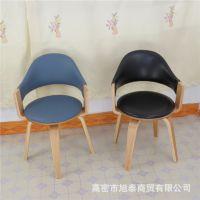 中式电脑椅子  实木转椅   厂家直销