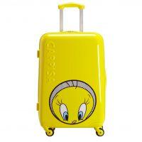 小黄鸭子个性化印花图案拉杆箱 ABS PC 材料旅行箱 高端礼品定制 行李箱