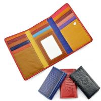 长款时尚卡包 真皮名片包钱包定制 无锡礼品公司 瑞丰达礼品定制 多种颜色可选