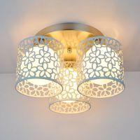 常州批发 LED吸顶灯 卧室 餐厅客厅灯 现代简约房间灯具玻璃灯罩