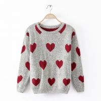 2015欧美风春款长袖欧美休闲套头毛衣网店免费代理提供一件代发货