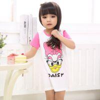 巴贝琪2015新款上市夏季时尚韩版童装家居服男童女童短袖可爱宝宝内衣儿童睡衣套装B5115