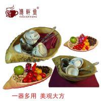 竹制 托盘 小号水果盘 酒店日式餐具 外贸家居用品 盘子 厂家直销
