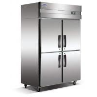 西安辉煌厨具供应豪华型全钢全铜制冷设备冰柜冷库