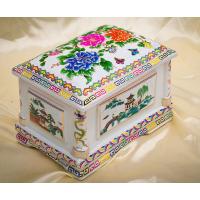 景德镇陶瓷骨灰盒供应 陶瓷骨灰罐定做 和艺陶瓷