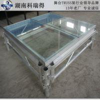 湖南长沙厂家直销玻璃舞台 活动舞台 拼装舞台