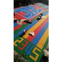 河南幼儿园专用悬浮式拼装地板