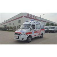 救护车厂家直销宏运牌依维柯新款宝迪A32救护车玻璃钢一体化内饰